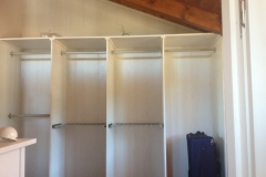 Interior armario de madera
