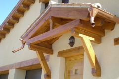 Tejadillo de madera