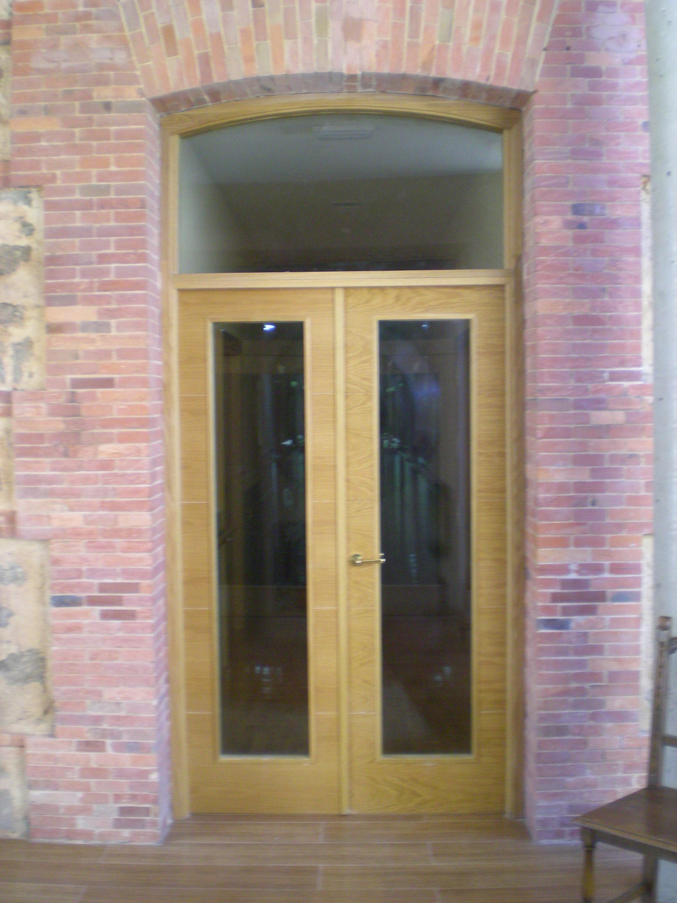 Puertas de calle carpinter a de prado for Puerta acristalada exterior