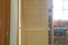 Puerta serie tablas estrechas