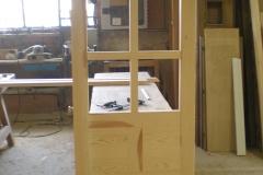 Puerta interior con cristales